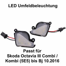 2x LED SMD Umfeldbeleuchtung Weiß Skoda Octavia III Combi / Kombi(5E5)  (71414)