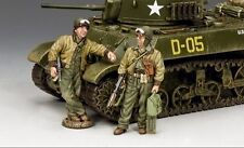 KING And Country WW2 TANK equipaggi Set # 3 D giorno dd282