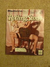 Rolling Stone Magazine Madonna Interview Carrie Fisher Photos Meisel June '91 F7