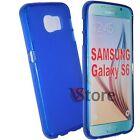 Cover Custodia Per SAMSUNG Galaxy S6 G920 Gel Silicone TPU piu Pellicola