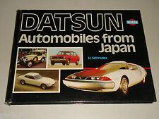 Album Photo : Datsun / Nissan - Automobiles de Japon, de Halwart Schrader