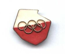 old POLISH OLYMPIC COMMITTEE pin NOC POLAND badge PKO PKOL