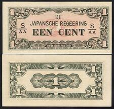 NETHERLANDS INDIES 1 Cent 1942 UNC P 119 b
