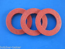 (3) #22 Fiber Washer for Hobart Meat Grinder Worm Auger 4322 4622 4822 & Others