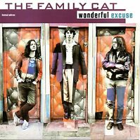 "THE FAMILY CAT - WONDERFUL EXCUSE - 7"" CLEAR VINYL SINGLE"