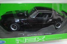1/18 Welly Pontiac Firebird Trans Am noir #12566W