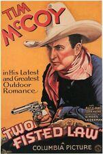 Two-Fisted Law - 1932 - Tim McCoy John Wayne Lederman Pre-Code Western DVD