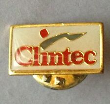 Clintec Pharma Medical Brand Small Pin Badge Rare Vintage Advertising (F10)