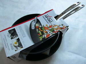 """All-Clad Nonstick Hard-Anodized 2-Piece Frying Pan Set Non-Stick 12"""" 10.5"""" NEW"""