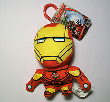 Marvel Iron Man Mini Bolso De Felpa Que Habla 11cm Clip-On/Llavero