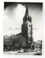 Abbey of Saint-Germain-des-Pres - Vintage 7x9 Publication Photograph - France