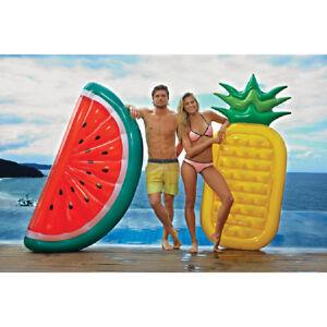 Inflatable Giant Unicorn Rose Gold Flamingo Pizza Lips Watermelon Pineapple 19b
