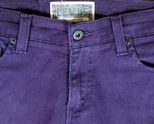 LEVI'S 510 Jeans Purple Denim Size W29 x L32 Super Skinny Stretch (J1)