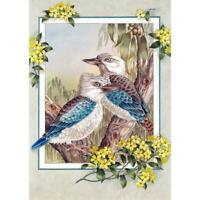 5D DIY Full Drill Square Diamond Painting 2 Birds Cross Stitch Embroidery