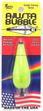 New Rainbow Plastics Ajust-A-Bubble 1/4 Oz Opaque Chartreuse Float Bobber Ab-4B