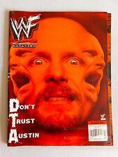 WWE RAW Wrestling Magazine Stone Cold Steve AustinOctober 2001