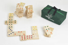 Wooden Dominoes Garden Games & Activities