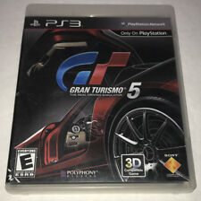 PS3 Gran Turismo 5 Videogame Sony Playstation 3