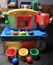 Vintage Little Tikes Discover Sounds Workshop With Phone Hammer Cups And Balls