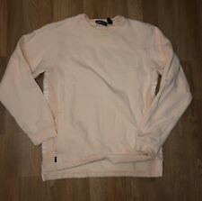 The Hundreds Pink Ribbeded Crewneck Sweater Size Mens Small