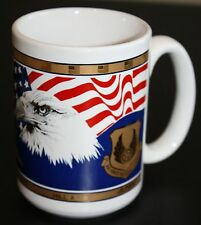 AFMC Hill AFB Air Force Materiel Command Eagle Coffee Cup Mug 22KT Kapan-Kent Co