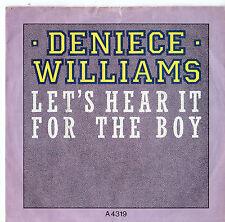 "Deniece Williams - Let's Hear It For The Boy 7"" Single 1984"