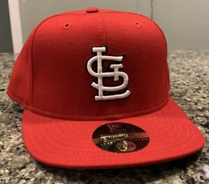 St Louis Cardinals Hat Cap Fitted 7 7/8 New Era 59Fifty Vintage