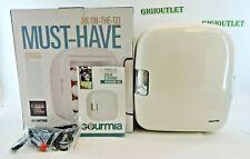 Gourmia Portable Thermelectric 6 Can Mini Fridge Cooler & Warmer - GMF900