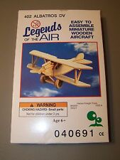 Legends of the Air Wooden Aircraft Model 402 Albatros DV - Sealed