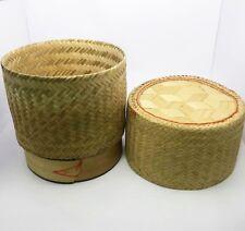 Authentic Thai Sticky Gluant riz cuiseur vapeur//Cuisinière Set 24 cm ** Vendeur Britannique **