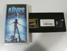 THE ABYSS SPECIAL EDITION JAMES CAMERON VHS TAPE TAPE SPANISH