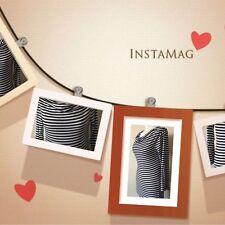 Long Sleeve Scoop Neck Regular Striped Dresses for Women