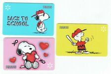 Walmart Gift Card Lot - Snoopy, Peanuts, Charlie Brown - LOT of 3 - No Value