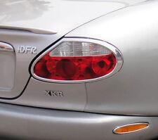 PAIRE NEUVE Chrome Feu Arrière entoure Trims pour Jaguar XK XKR XK8 96-06 tout modèle