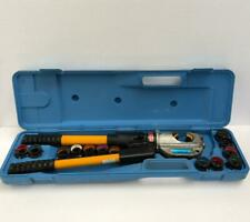 IZUMI EP-430 HAND HYDRAULIC CRIMPING TOOL WITH 13 DIE SETS -FREE SHIPPING-