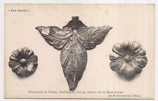 pro alésia , ornement de bronze , feuillage et rosaces