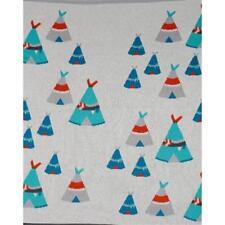 Baby Boys Teepee Cot Pram Blanket Wrap Indus Design Premium Cotton Baby Shower