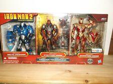 Marvel Legends Ironman Toys-R-Us Mission Tech Armor 3 Pack figure set