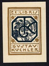 30)Nr.124- EXLIBRIS- Emil Orlik, 1905
