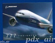 BOEING 777 FREIGHTER (777F) ALL-CARGO VERSION TWINJET LIVERY STICKER