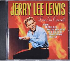 Live in Concert Jerry Lee Lewis [Germany Imp. - Pegasus PEG CD217 - 1999] - MINT