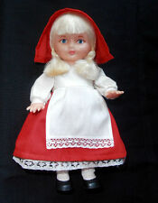 1970 Ussr Soviet Estonia Souvenir Salvo Doll Fairy-Tale Character Little Red Cap