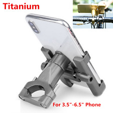 Aluminum Alloy Holder MTB Motorcycle Handlebar Mount GPS Phone Holder Support