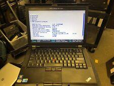 "Lenovo ThinkPad T410i Laptop 14"" Core i3-330M 2.13GHz 4GB DDR3 NO HDD"