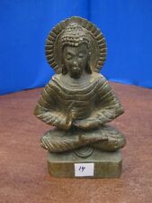 1900's Antique Old Rare HandCarved Stone Collectible Religious Vintage BUDDHA 14