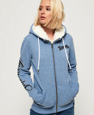 Superdry Womens Aria Applique Zip Hoodie Size 10