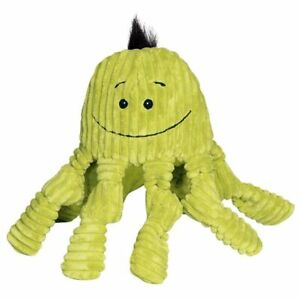 HuggleHounds Knotties plush Squeaker Citron Octo-Knotties TUFFUT toy NEW Large