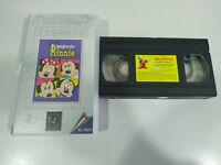 Lo Mejor de Minnie Walt Disney - VHS Cinta Español