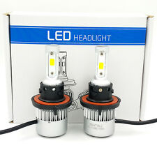 H13 9008 980W 147000LM CREE LED Headlight Kit Hi/Low Beam Bulb White 6000K Power