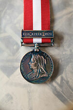 CANADA GENERAL SERVICE MEDAL RED RIVER BAR ARMY NAVY FULL SIZE CGSM ARMY NAVY